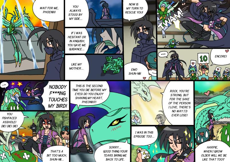 Bakugan sex comic #13