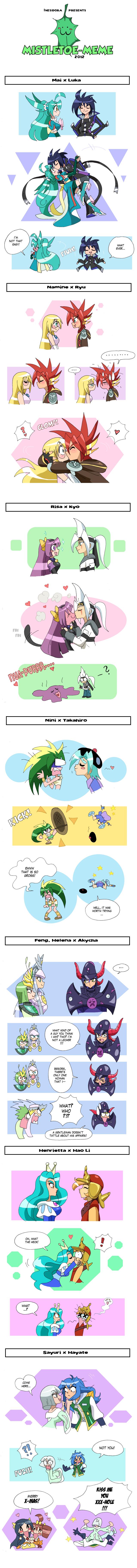 Mistletoe Meme by Inesidora