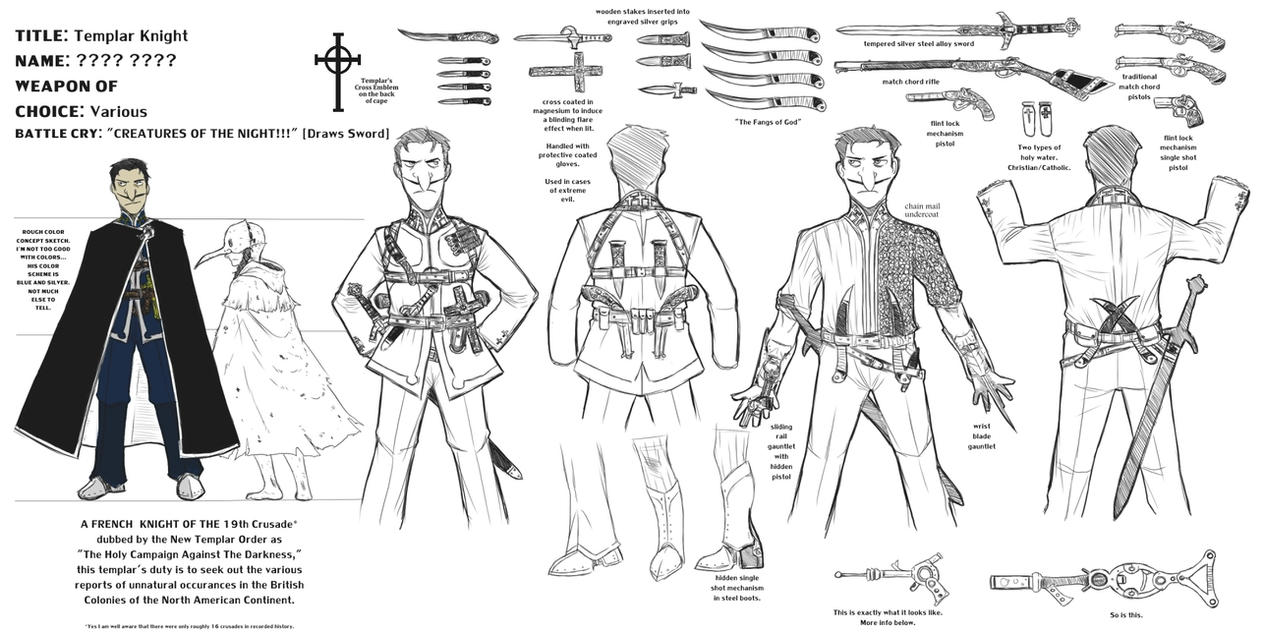 templar character reference by templar raven on templar character reference by templar raven