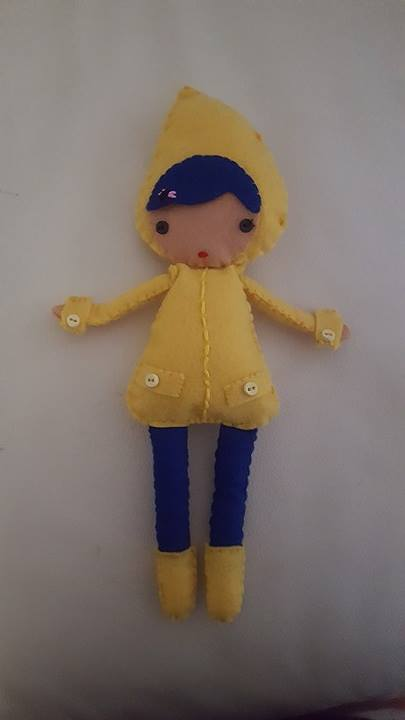 Coraline inspired doll by Sugarpinklickalips