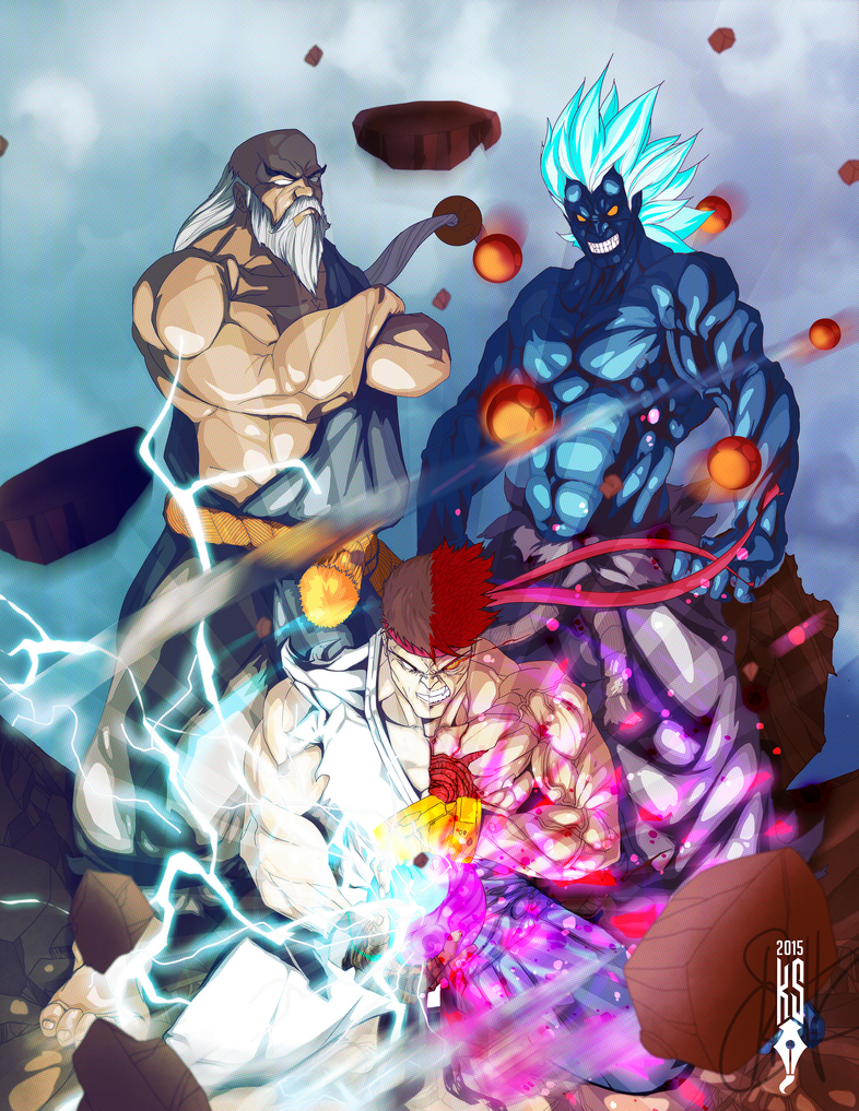 Udon Capcom Fighting Game Tribute Ultimatum by SmithByDesign