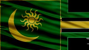 Desert-Theme Empire Flag