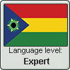 Tropicalish Language level Expert by lordelpresidente