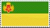 Yogyakarta Sultanate stamp by lordelpresidente