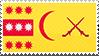 Principality of Pakuningratan Stamp by lordelpresidente