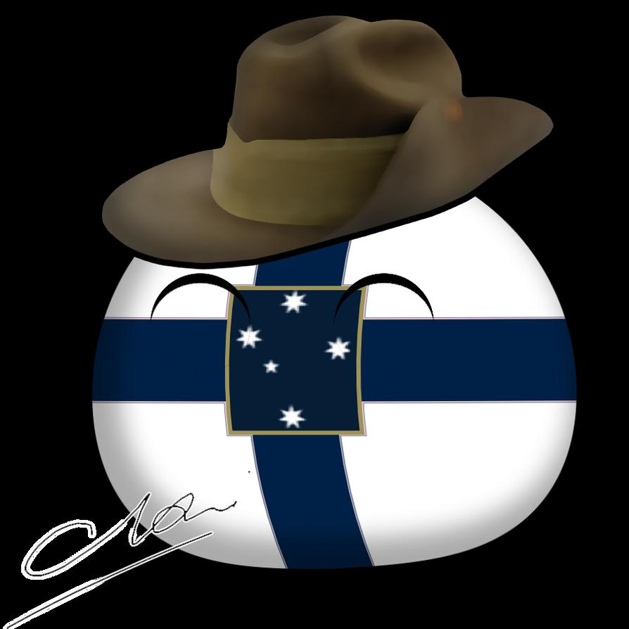 Terre Australieball by lordelpresidente
