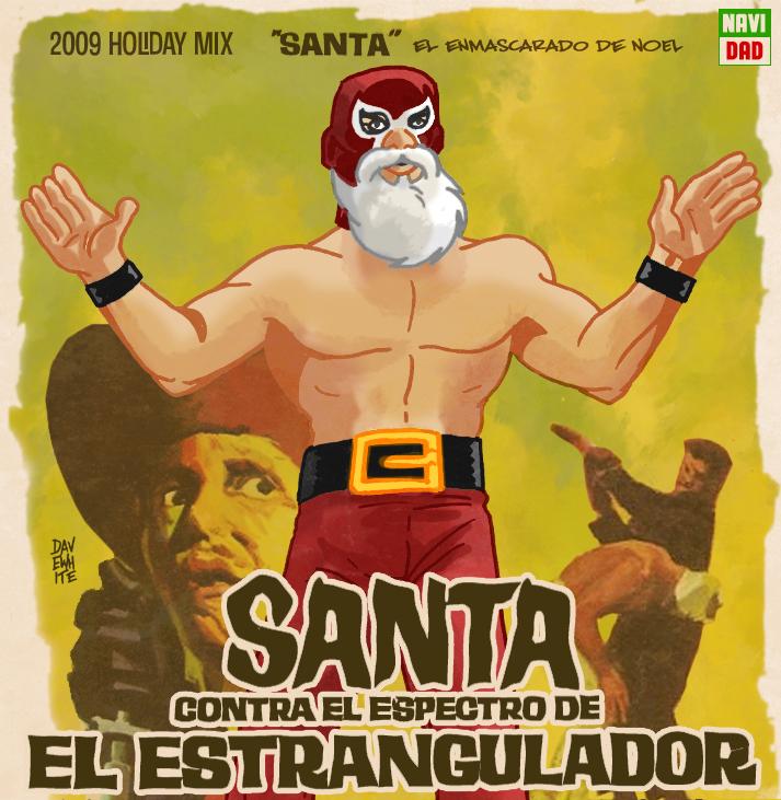 Santa Contra El Estrangulador by mrdestructicity