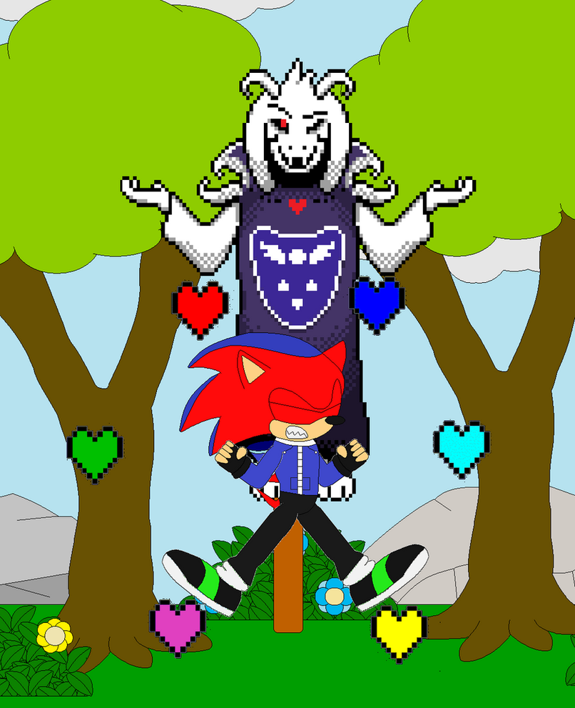 fabian controled for the souls and for asriel by fabian-666