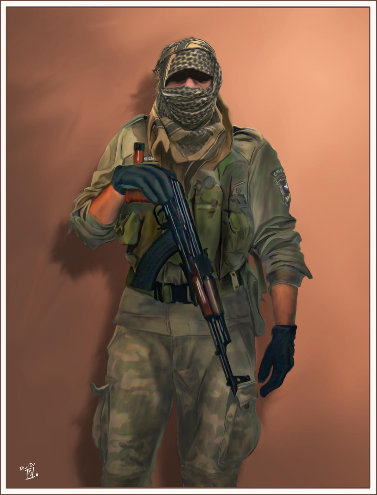Russian Spetsnaz 2004 by KOKORONIN