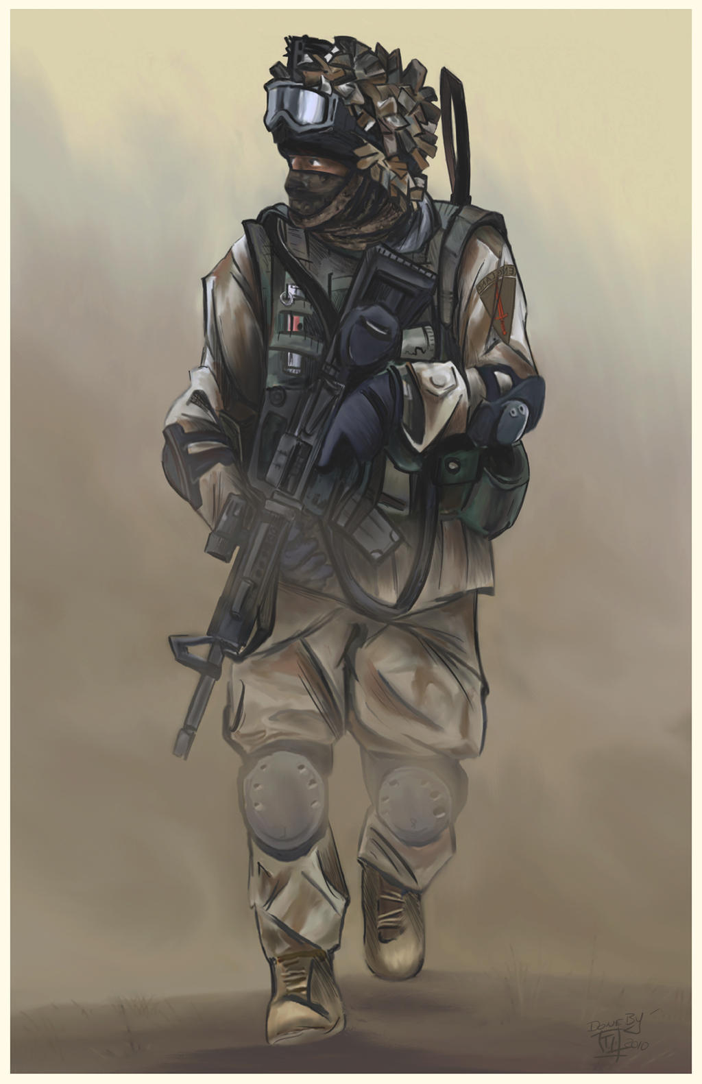 BRITISH SPECIAL FORCES 2010 by KOKORONIN