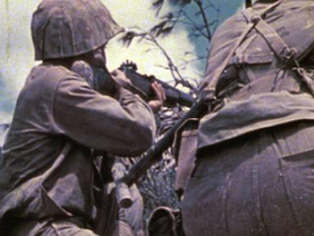 USMC okinawa 1945 by KOKORONIN