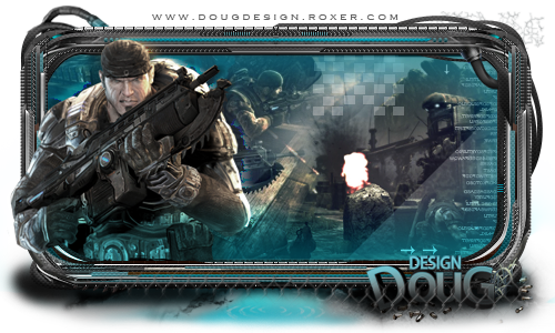 Video Aula - Sign completa com borda Tech - by: DouG Signgearsofwar_by_doug_design-d3hfiqq