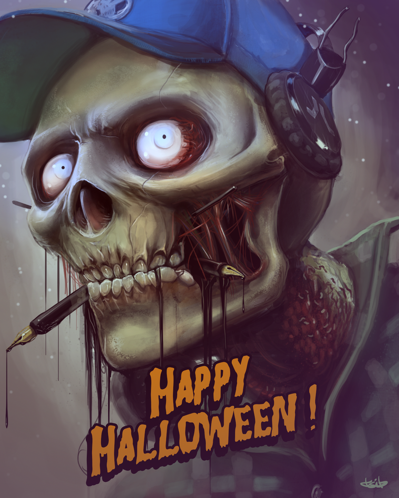 Happy halloween ID by TSIB