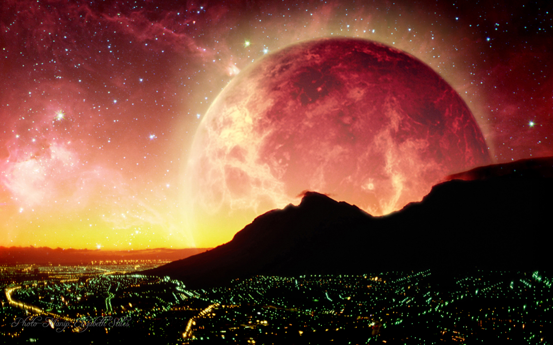 city night sky background - photo #28