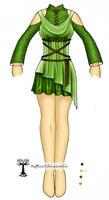 Saria Costume Design Concept