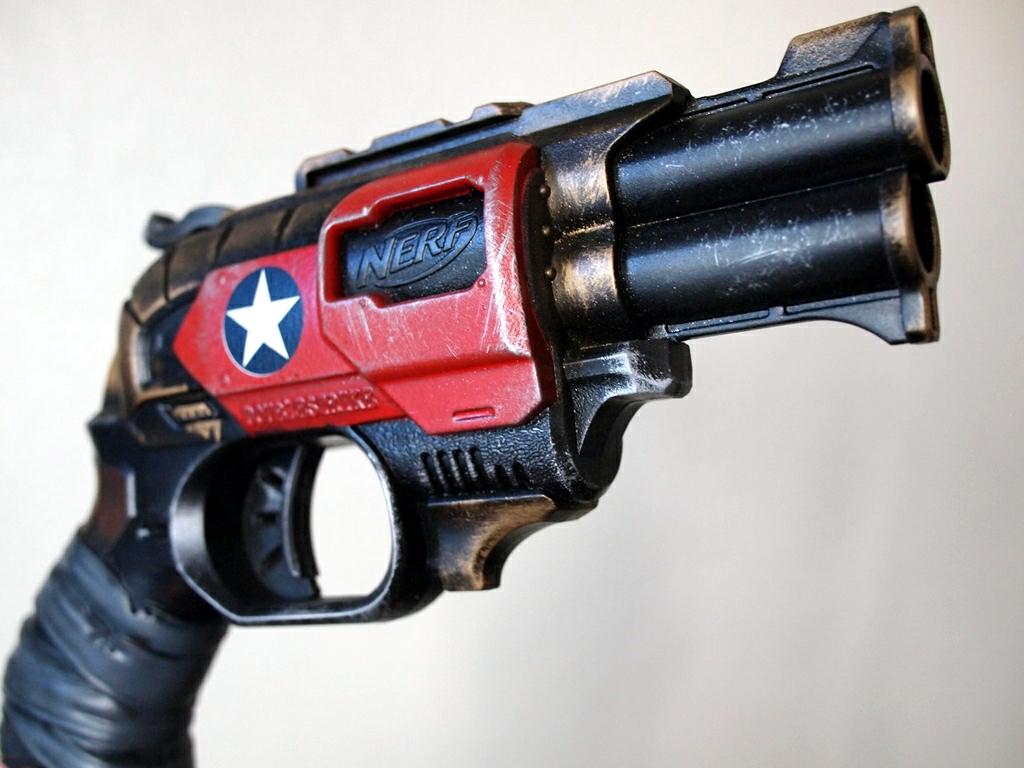 Nerf Doublestrike, Red Star by KillingjarStudios
