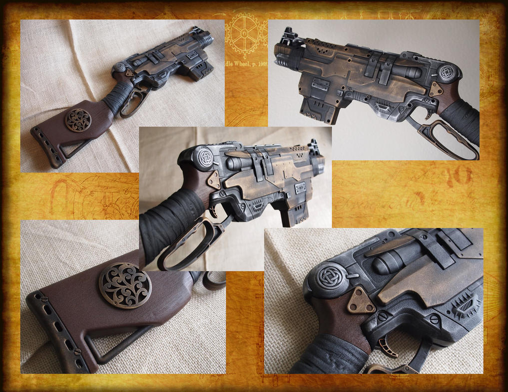 Nerf Slingfire, Celtic Steampunk by KillingjarStudios ...