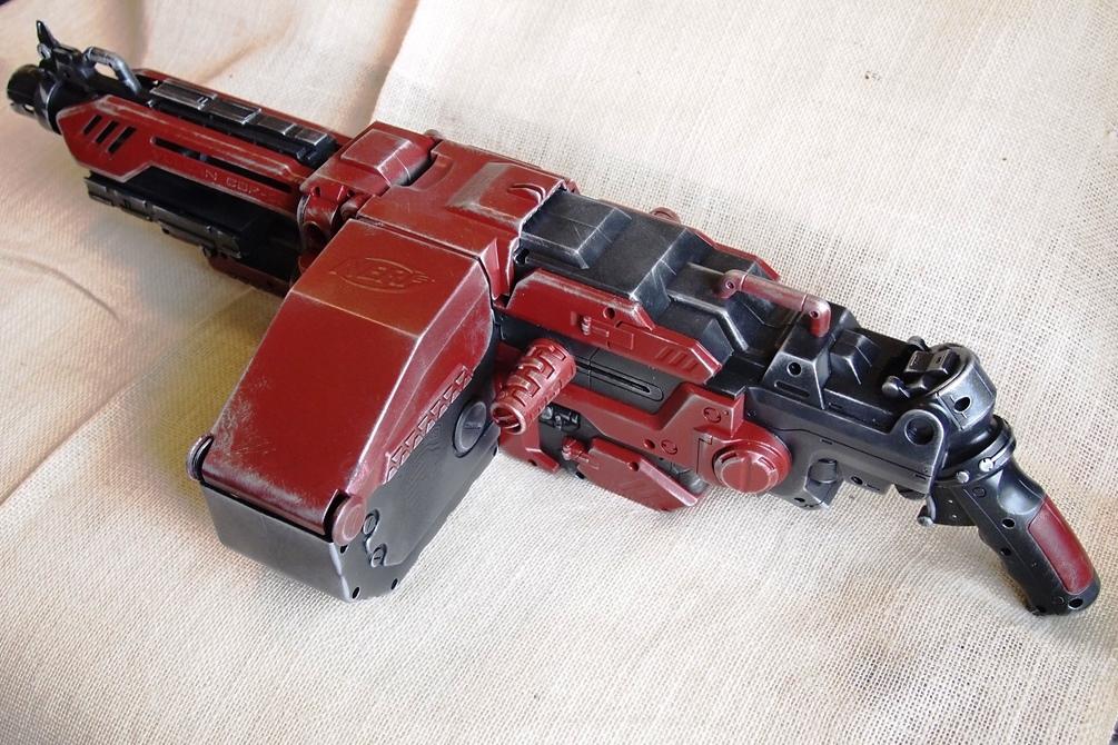 NERF N Strike Vulcan Ebf-25 Blaster Automatic Gun Tripod Stand | eBay