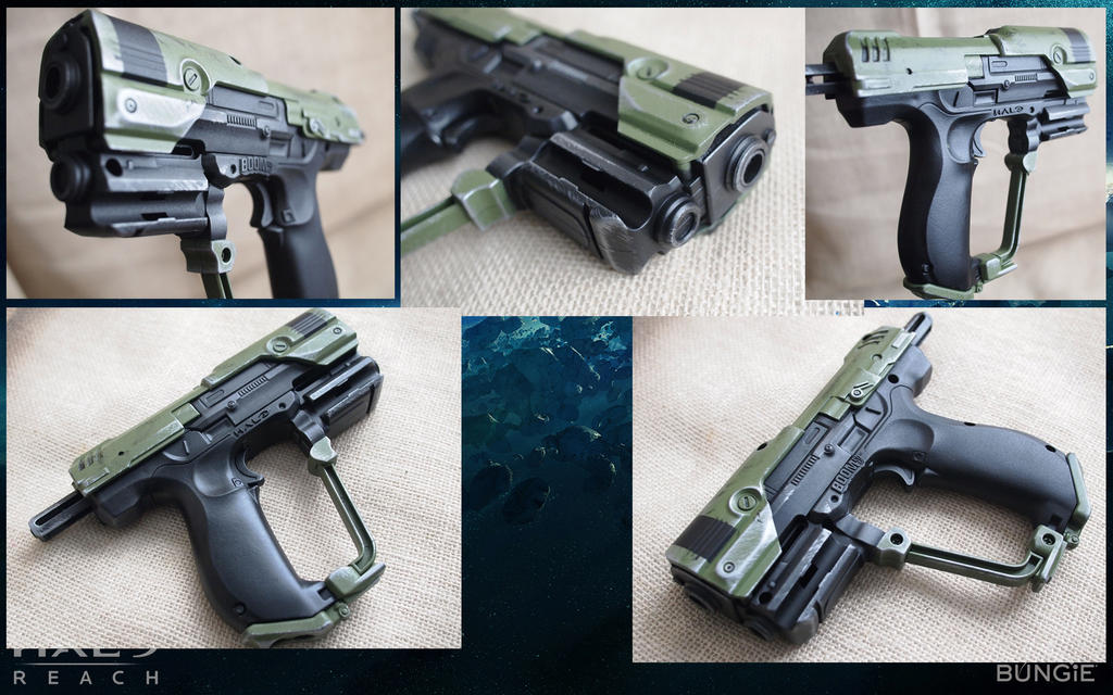 Image is loading BOOMco-Halo-UNSC-MA5-Blaster-SMG-Nerf-Gun-