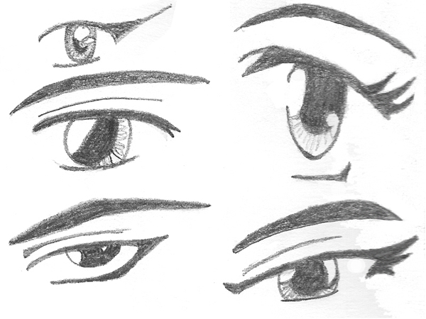 Anime Eyes By Rhaeigan