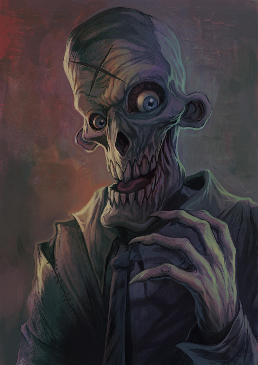 cool ghoul by WacomZombie on DeviantArt