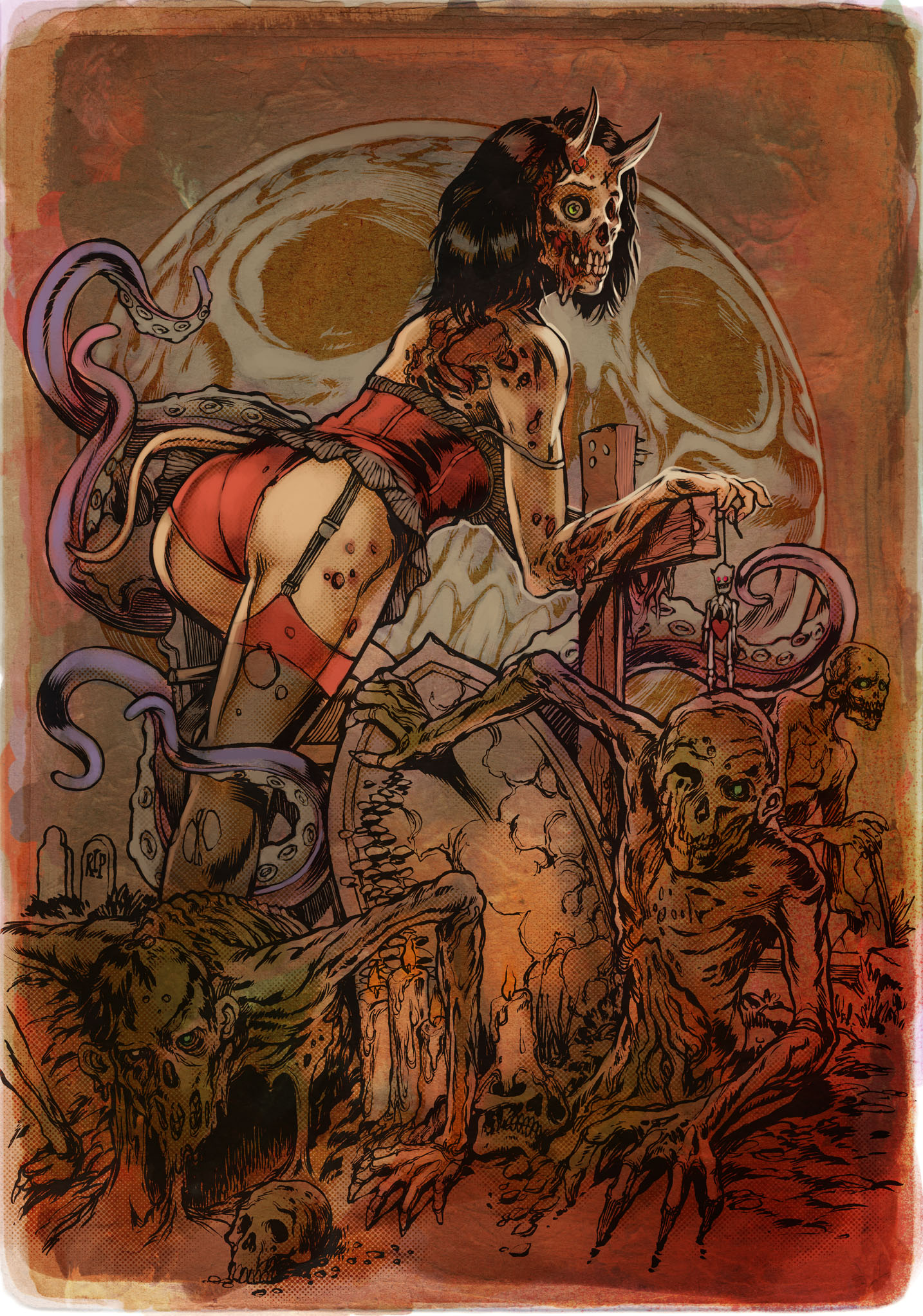 Zombie girl cocksucking hentia pics
