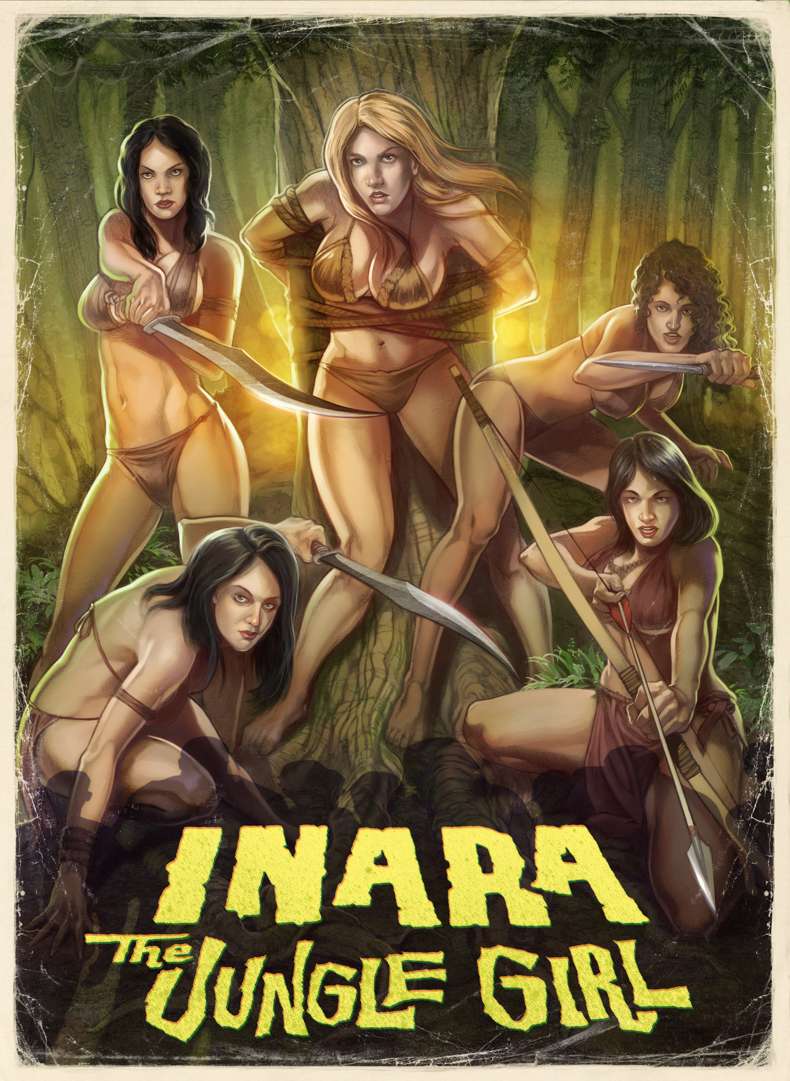 3d jungle tribe captures girl nackt vids
