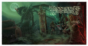Tennessee Murder Club Wraparound CD cover