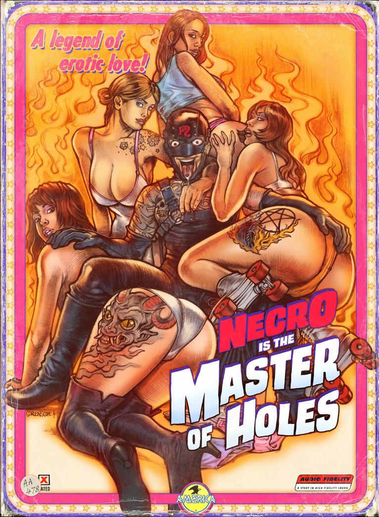 Master of Holes by WacomZombie
