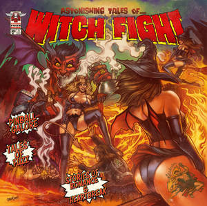 Witch Fight print version