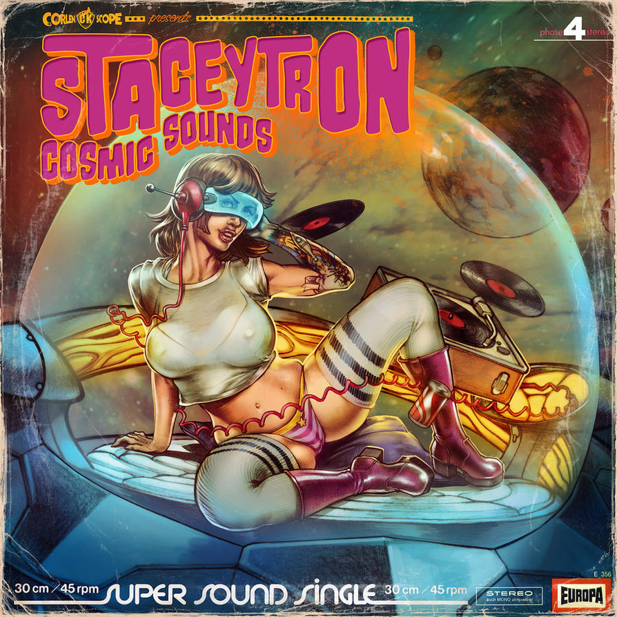 Cosmic Sounds of Staceytron by WacomZombie