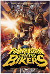 Frankenstein Created Bikers Poster artwork