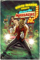 Garth Manor Drive in Massacre poster by WacomZombie