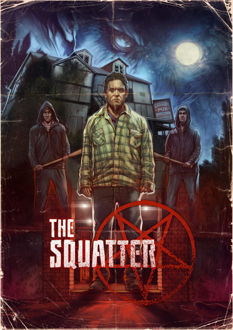 The Squatter poster by WacomZombie