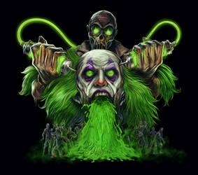 Vomit Clown - Zombie Toxin by WacomZombie