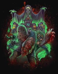creature feature Zombie Toxin by WacomZombie