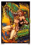 Jungle Girl Zombie hunter on Voodoo Island