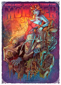 Monster spook show