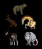 Animals by datpanda