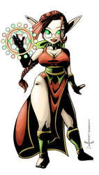 Snowy the Sorceress by Daitou