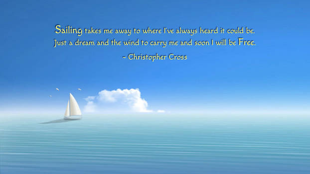 Christopher Cross Quote by RSeer