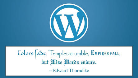 Edward Thorndike Quote by RSeer