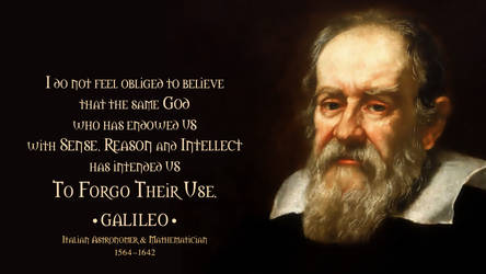 Galileo Quote 3 by RSeer