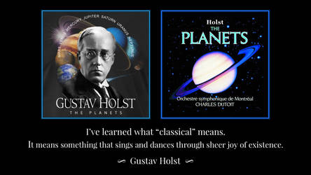 Holst Quotes by RSeer