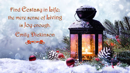 Emily Dickinson Quote 2 by RSeer