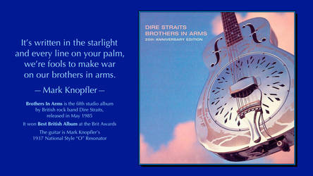 Mark Knopfler Quote by RSeer