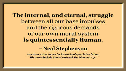 Neal Stephenson Quote 2 by RSeer