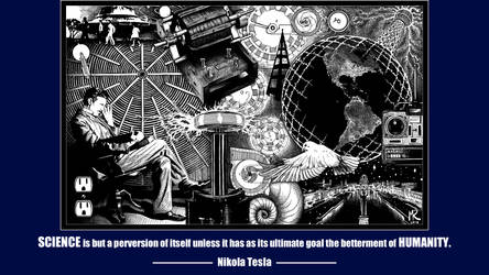 Nikola Tesla Quote by RSeer