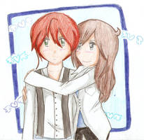 Hug by Ririsia