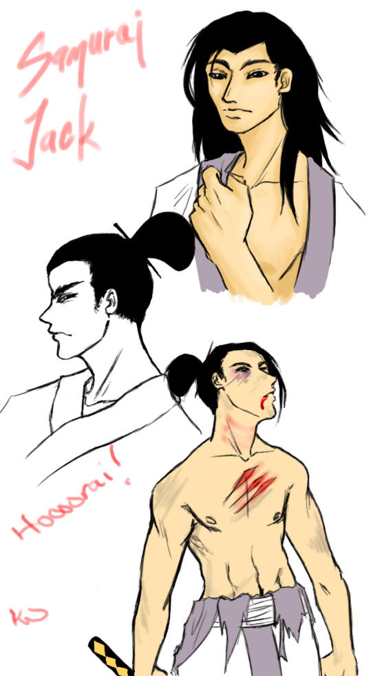 Samurai Jack Sketchels By Wyv Kate